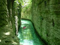 Xcaret-rivers