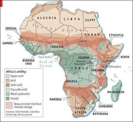 Africa-aridity